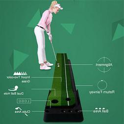 PGM Indoor Golf Putting Trainer Portable Golf Practice Putti