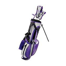 King Par Intech Flora Girls Juniors Golf Sets SmallAges 4-7