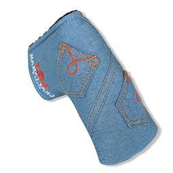 Craftsman Golf Jeans Pocket Design Golf Club Blade Putter He