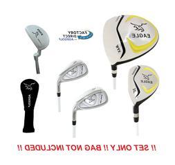 AGXGOLF Junior Eagle Graphite Golf Club Set wDriver, Hybrid,