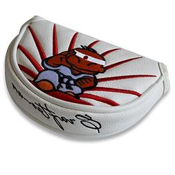 Craftsman Golf Karate Cartoon Half Mallet Putter Cover Headc