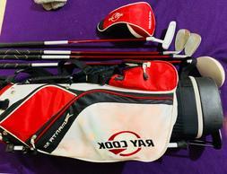 Kids golf Ray Cook Manta Ray Jr. Golf Set Driver Iron Wedge