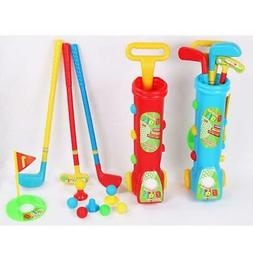 Kids Golf Set Plastic Mini Putter Golf Club Toy Child Outdoo
