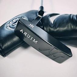 Miura Golf KM 009 Putter Black Boron Finish Limited Edition