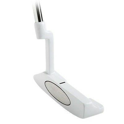 101 nano white golf putter 330g right