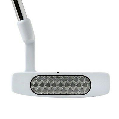 105 nano white golf putter 320g right