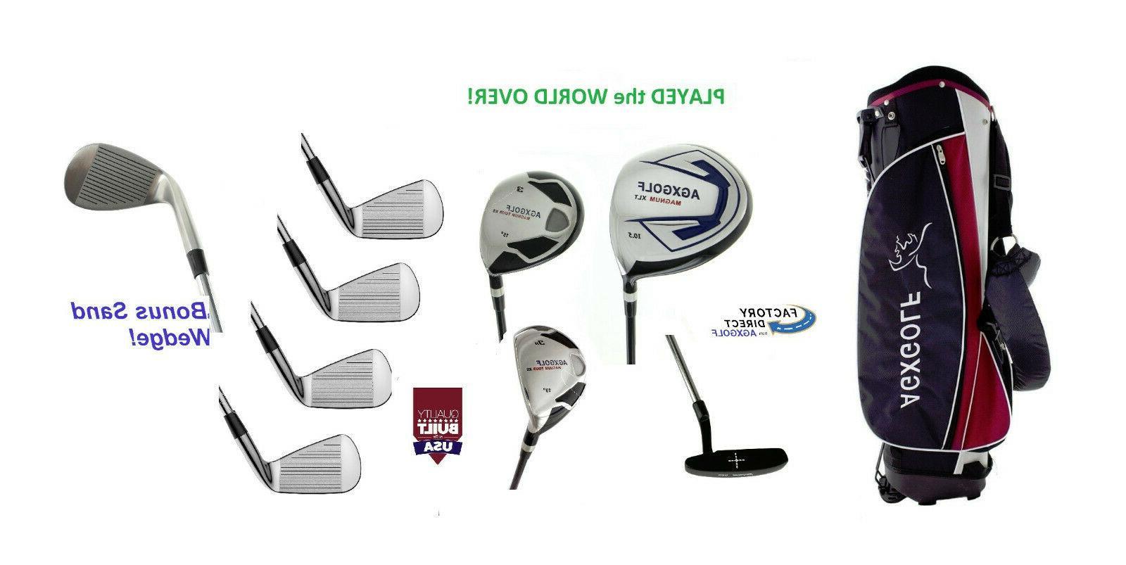 2 men s executive golf club set