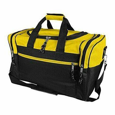 20 or 17 blank duffle bag duffel