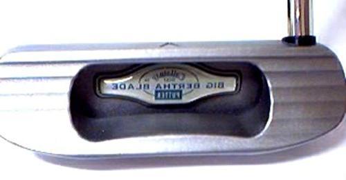 big bertha blade putter steel