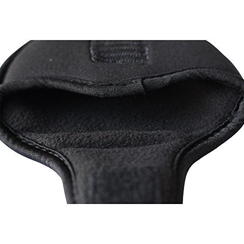 Black Headcover Oversize Neoprene Cover Perfect Mallet Putters Fits Ball