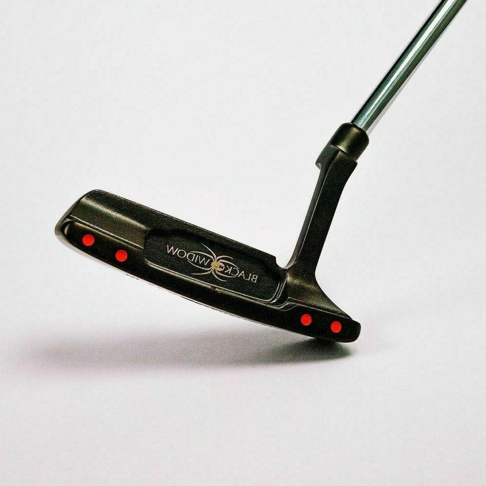 black widow golf putter 100 percent fine