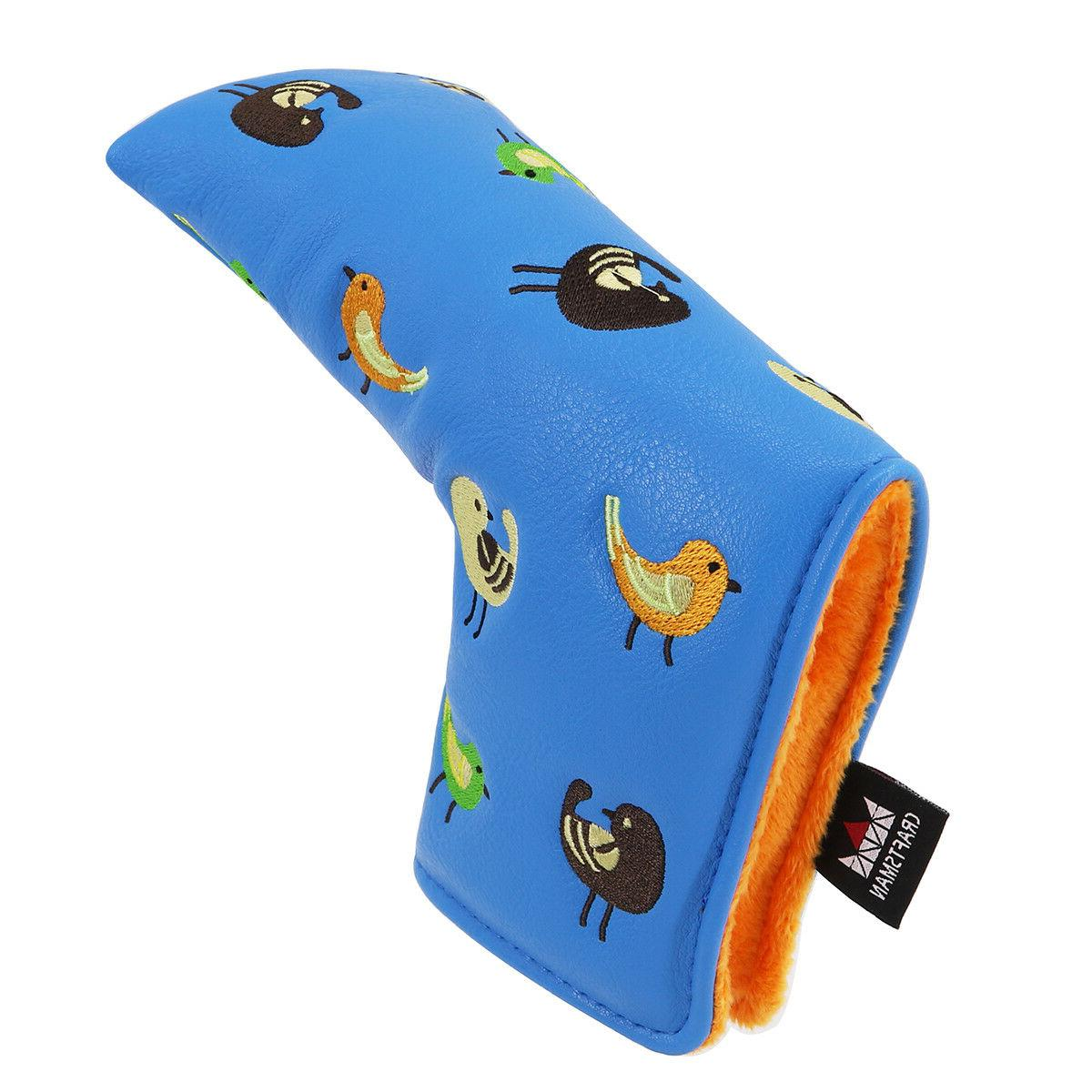 Blue Cover Headcover Yes Ping Putters