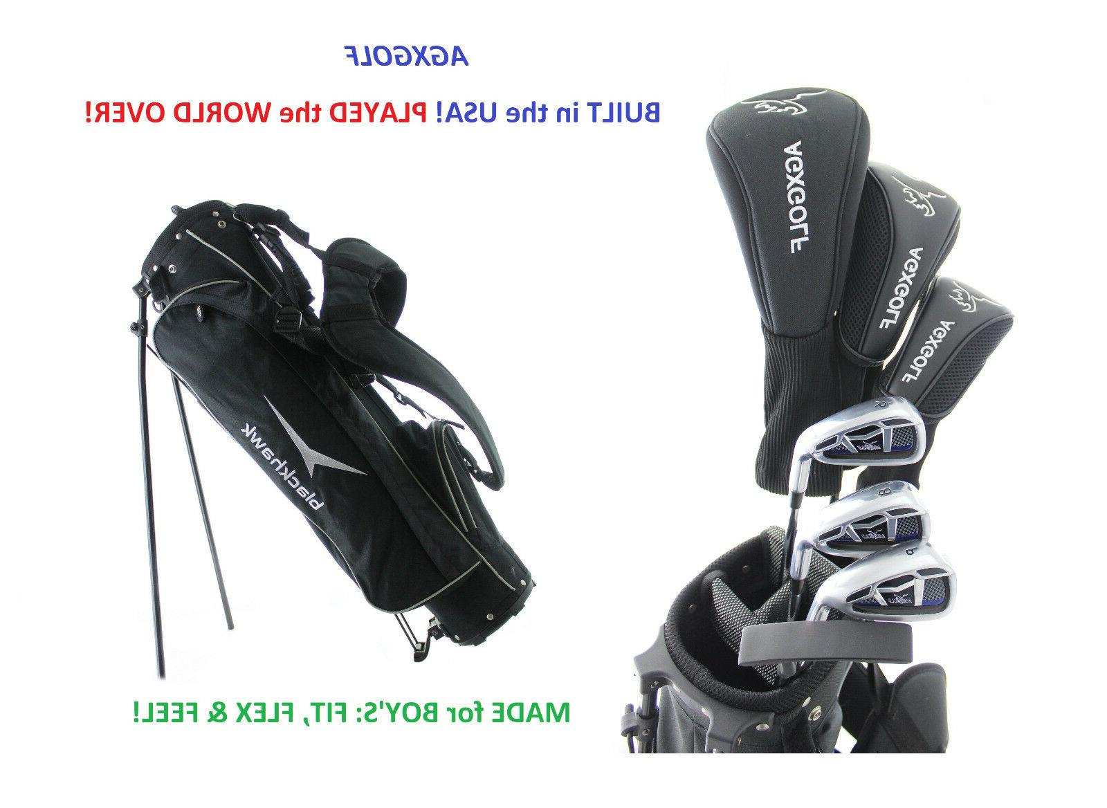 boys right magnum complete golf set wdriver