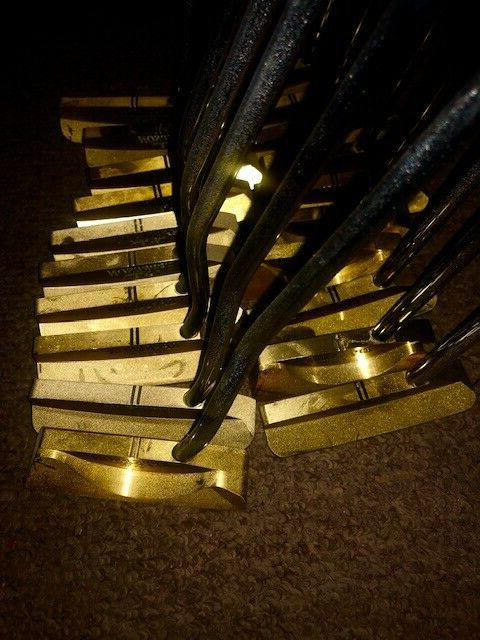 Brand New Brass Putters Lot of 10
