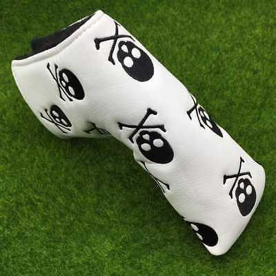 Putter Headcover Blade Golf Club Head Covers PU Leather Scot