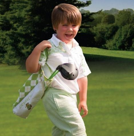 The Golfer Kids w/ Golf Grips Teach Proper Right Hand 3 Years