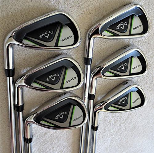 Callaway Mens Complete Golf Set - Driver, Wood, Hybrid, Irons, Putter, Stand Bag Right Regular Flex