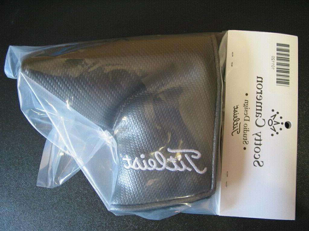 Scotty Cameron Gray Putters Mallet Headcover