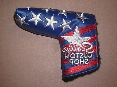 Scotty Shop Stars & Putter Headcover