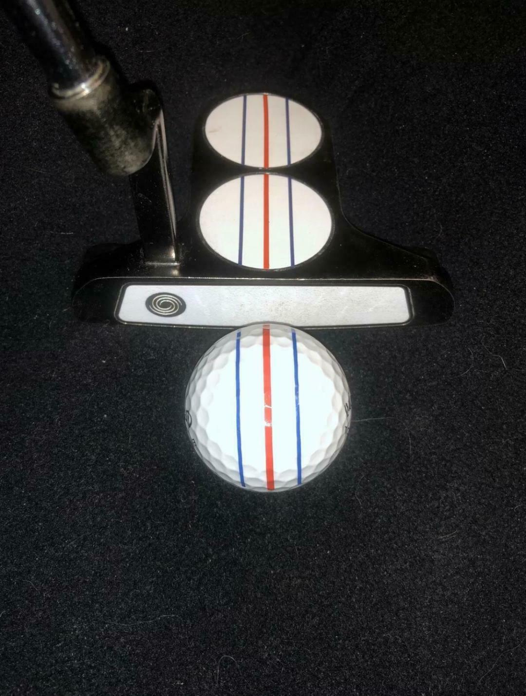 ODYSSEY TRIPLE TRACK Styled VINYL DECAL for ANY PUTTER! •Y