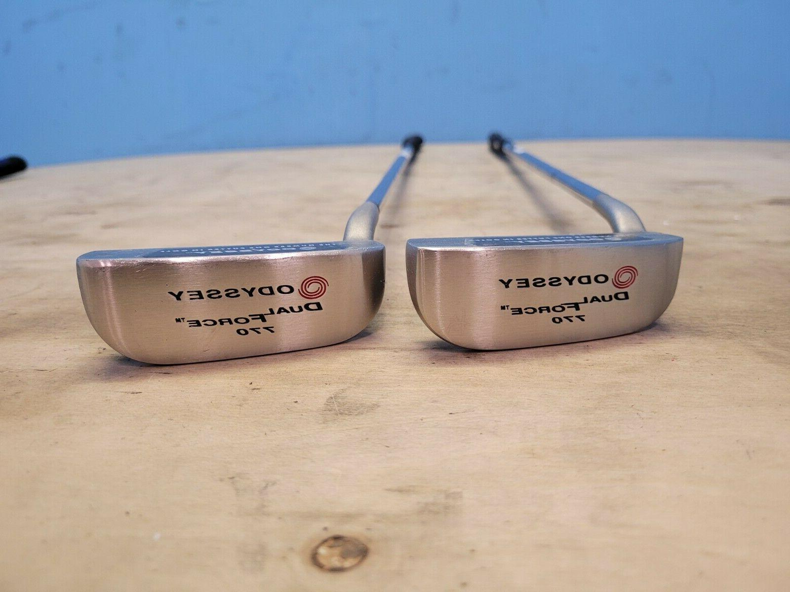 dual force 770 34 blade putter lh