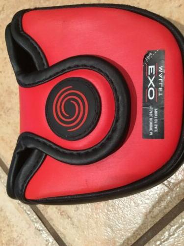 ODYSSEY LARGE PUTTER HEADCOVER - Red Cover
