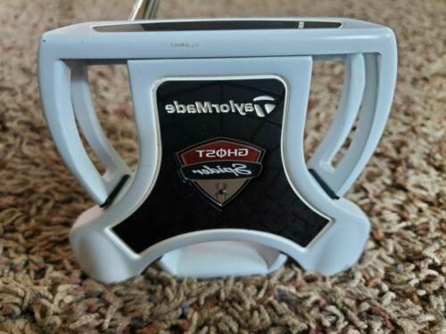 ghost spider 34 putter w superstroke flatso