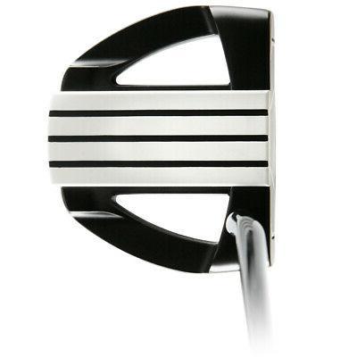 golf 701 black mallet putter black 35