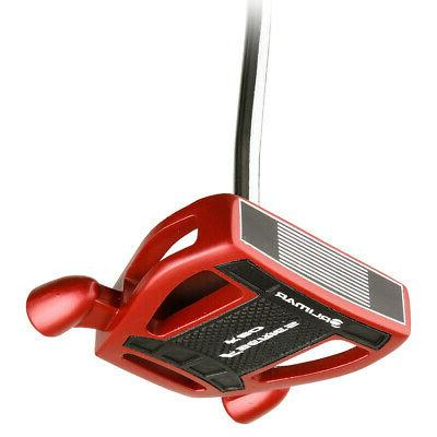 Orlimar Black/Red Mallet Style Putter, Brand New