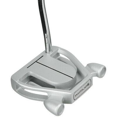 golf f80 silver mallet putter 35 right