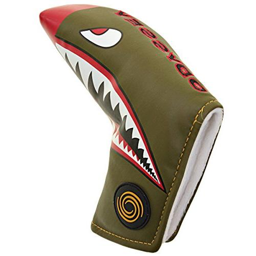 golf fighter plane blade putter