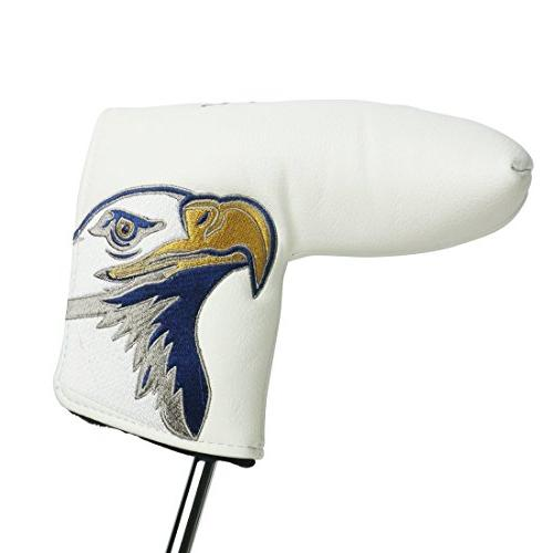 PINMEI Golf Putter Headcover Synthetic Closure for Scotty Blade