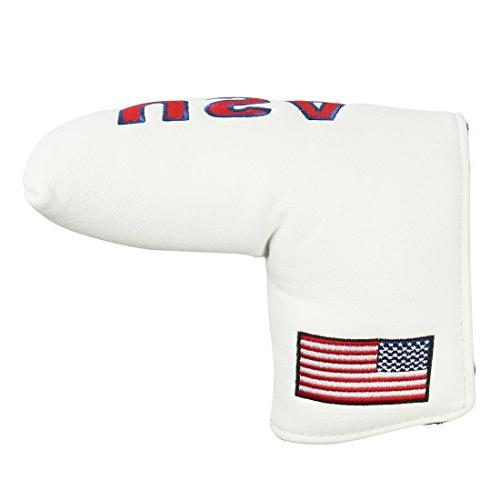 golf putter headcover synthetic leather