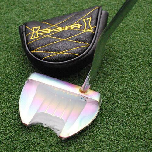 golf rfx renegade tropical finish mallet putter