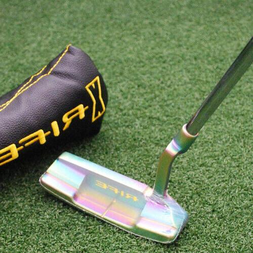 golf rfx riddler tropical finish blade putter