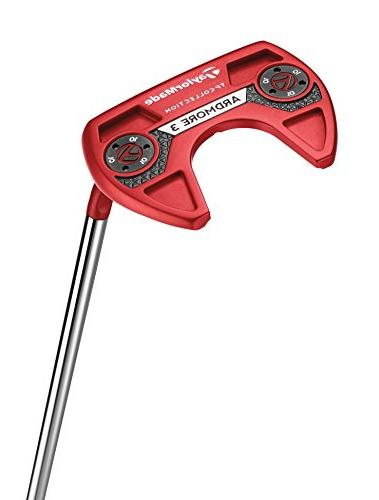 TaylorMade Golf Tour Red #6 Stroke 35 IN Putter,