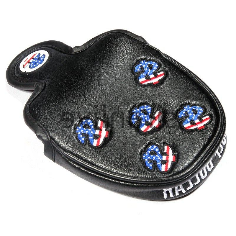 Golf USA Mallet Putter Cover <font><b>Headcover</b></font> <font><b>Odyssey</b></font> with Smart and