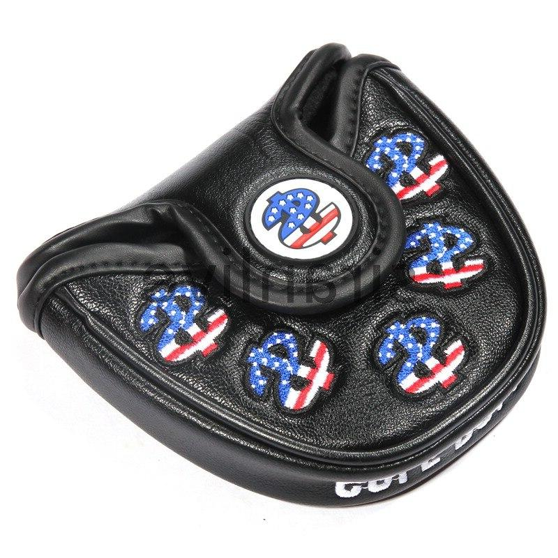 Golf USA Mallet Putter Cover <font><b>Headcover</b></font> <font><b>Odyssey</b></font> and Quality Protector