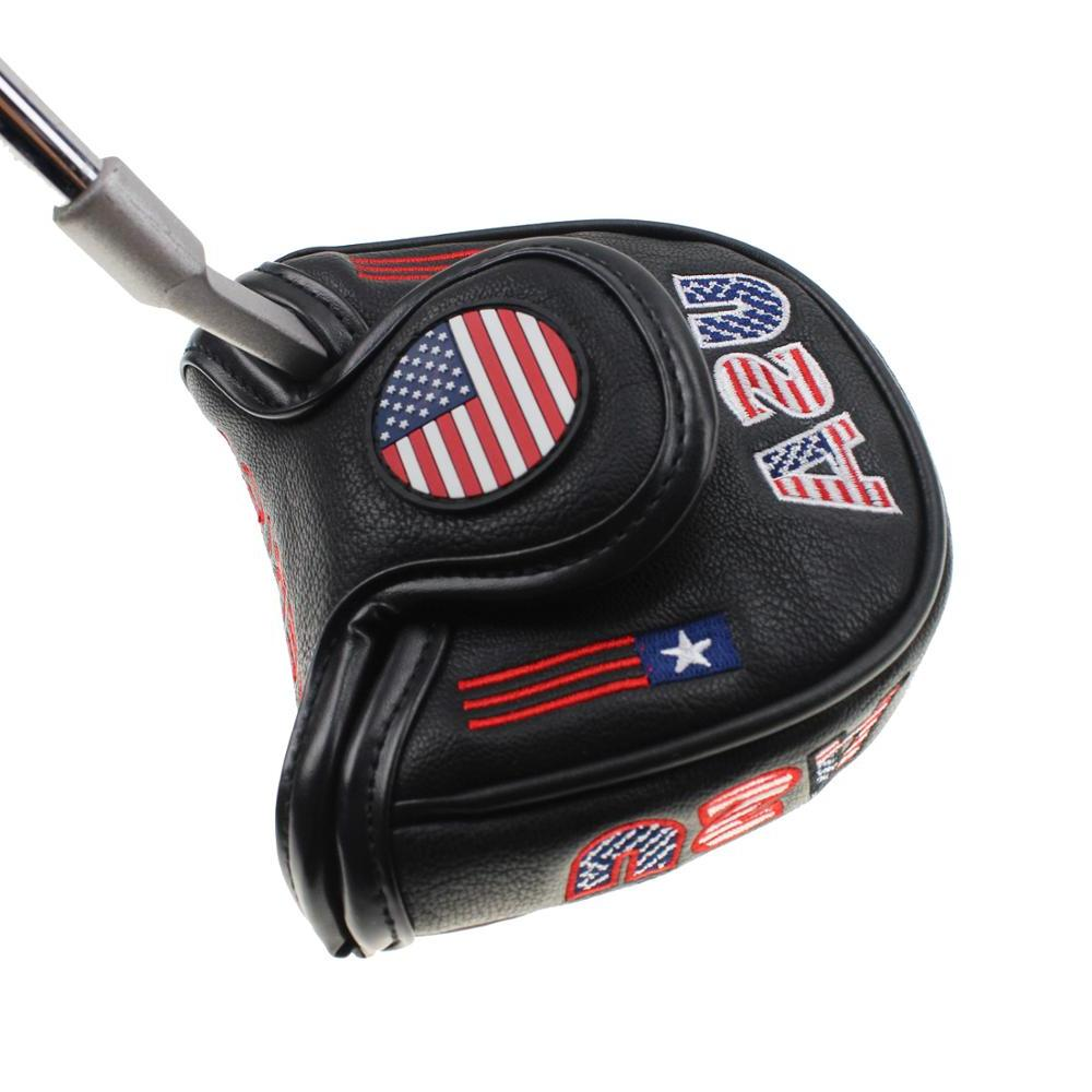 Crestgolf America Mallet Putter for Design and Head Golf