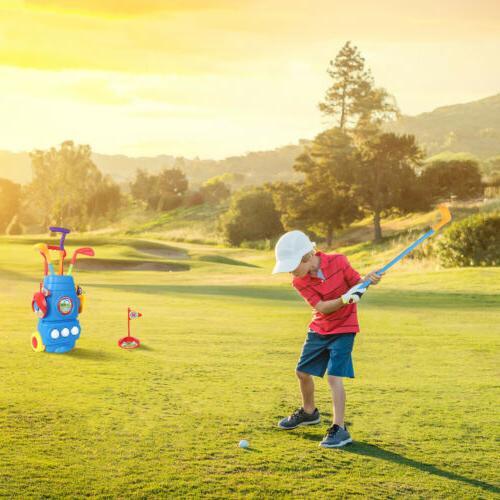 Kids Golf Mini Putter Golf Child Outdoors Sports Game