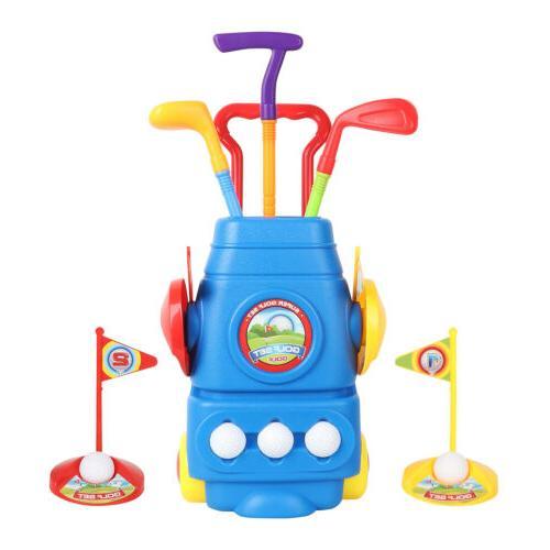Kids Set Mini Putter Golf Club Child Game USA