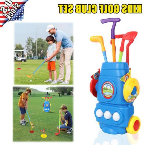 kids golf set mini putter golf club