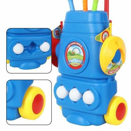 Kids Mini Club Set Plastic Toy Outdoors Sports
