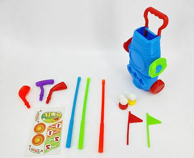 Kids Plastic Mini Putter Club Toy Child Outdoors Sports Game
