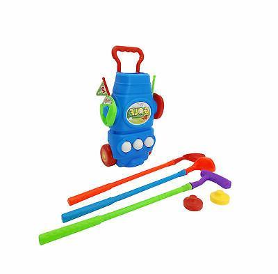 kids golf set plastic mini putter golf