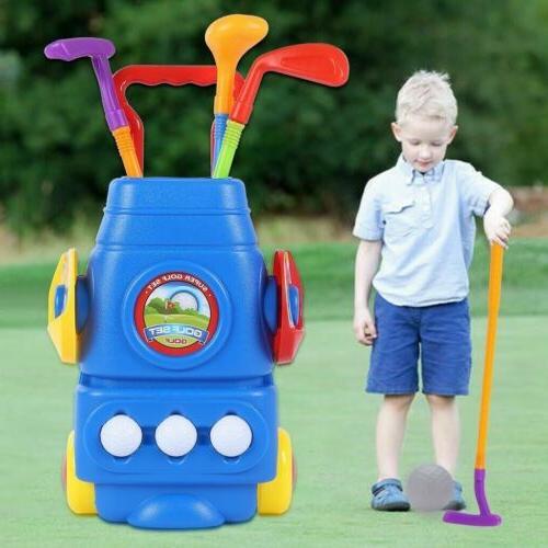 kids mini golf putter club golf set