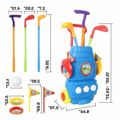 Kids Putter Club Plastic Toy Outdoors Sports