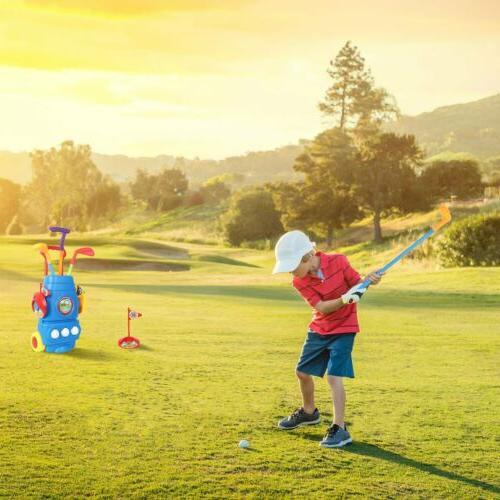 Kids Golf Club Set Toy Child Outdoors Sports