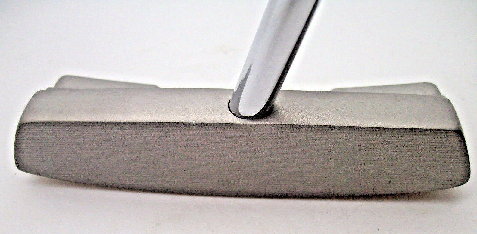 lefty heavy putter heel toe weighted design