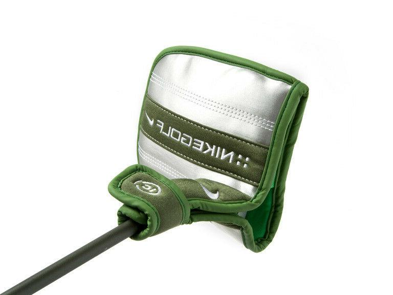 LH Nike Face Putter 20-15A Green in alignment cover